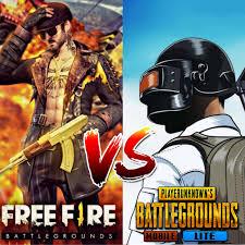 Free Fire vs. PUBG Mobile