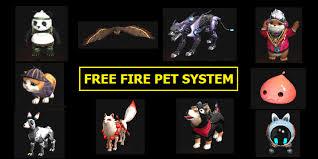 Free Fire Pets abilities