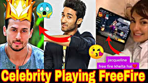 celebrities who played Free Fire