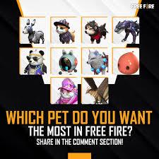 best Pets in free fire