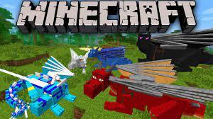Dragon mods in Minecraft