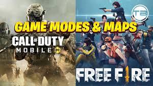 Free Fire VS. COD Mobile