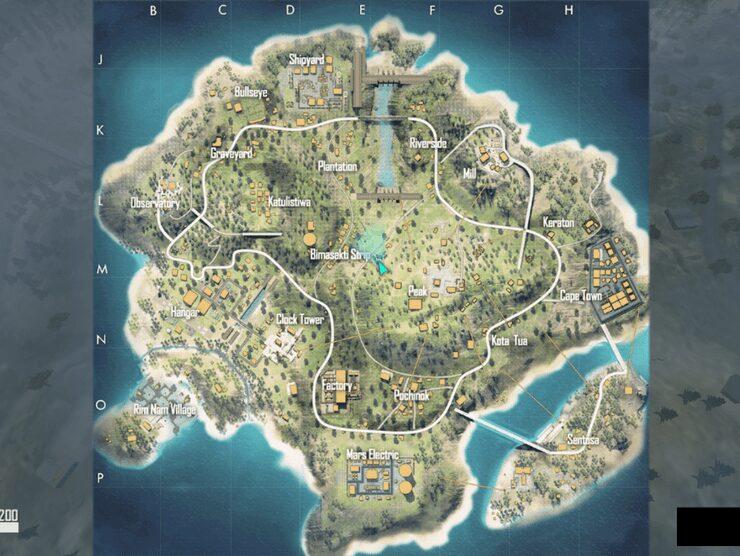 rank pushing in Bermuda map