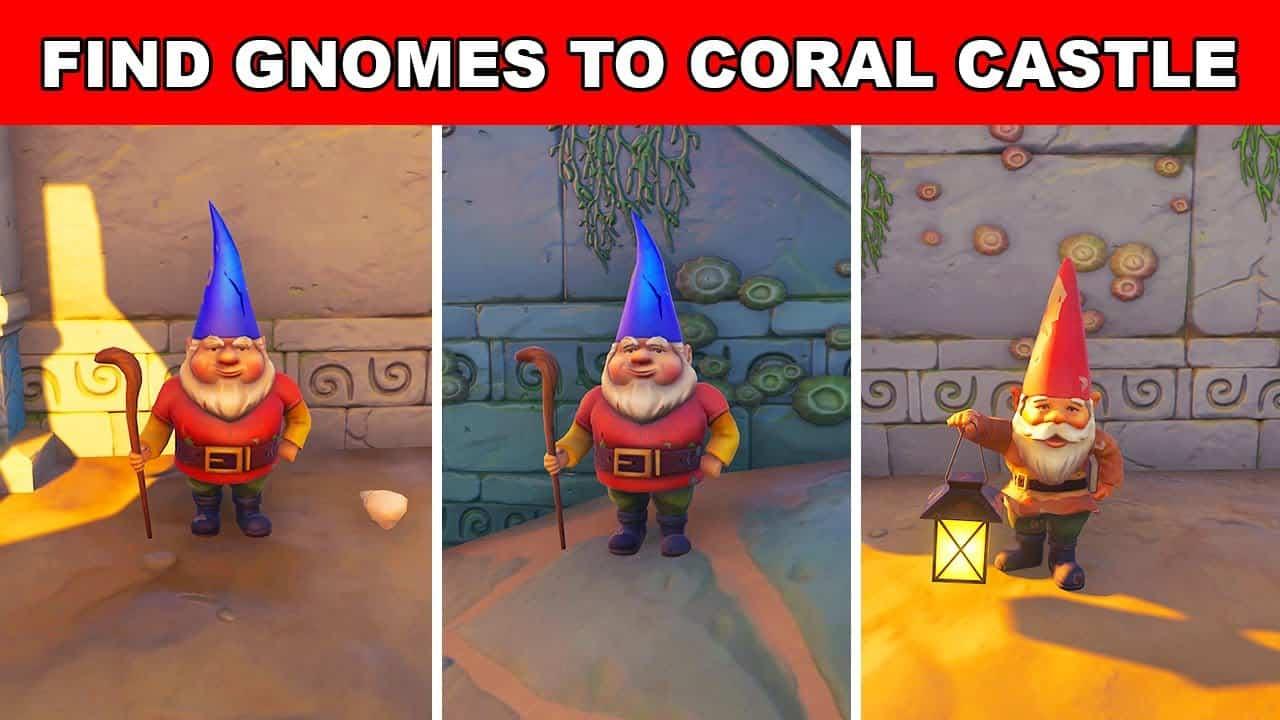 gnomes in coral castle