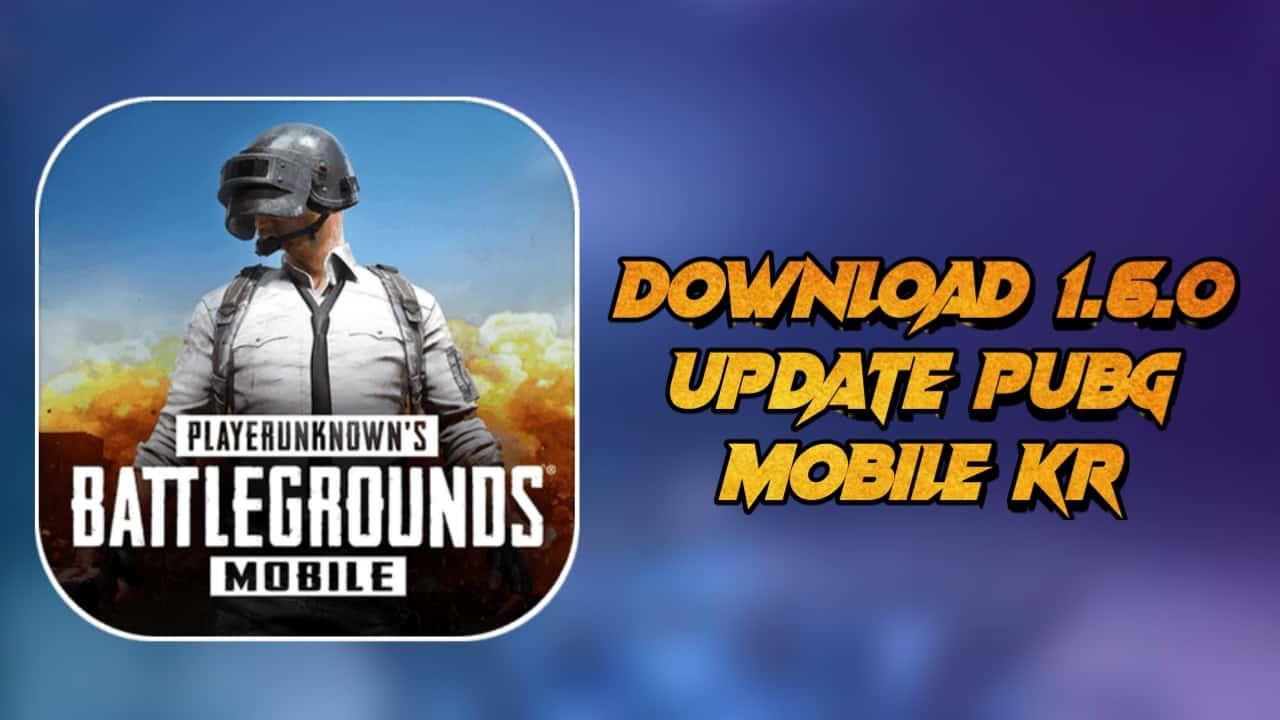 1.6 update pubg kr